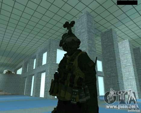 Le troisième soldat de la peau de Cod MW 2 pour GTA San Andreas