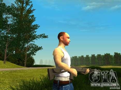 Benelli M4 Super 90 pour GTA San Andreas troisième écran