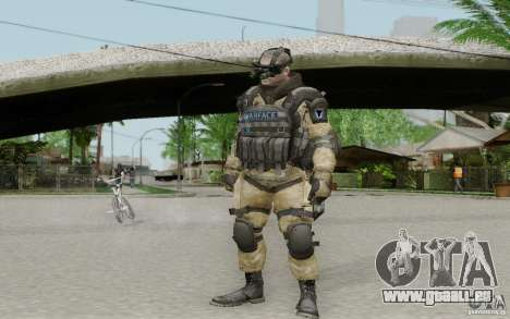 Ein Ingenieur aus Warface für GTA San Andreas