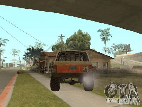 Jeep Cherokee 1984 für GTA San Andreas rechten Ansicht