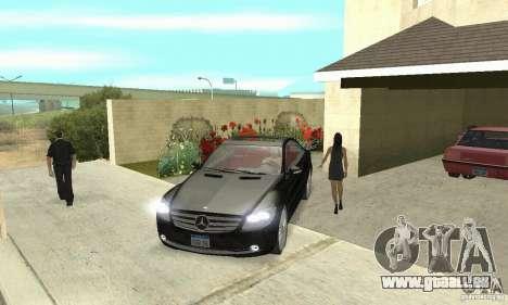 Mercedes-Benz CL500 pour GTA San Andreas