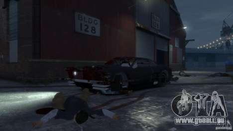 Apocalyptic Mustang Concept (Beta) pour GTA 4 est une vue de l'intérieur