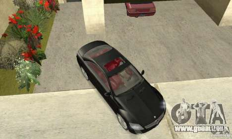 Mercedes-Benz CL500 pour GTA San Andreas vue de droite