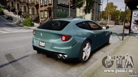 Ferrari FF 2012 pour GTA 4 vue de dessus