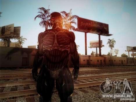 Crysis 2 Nano-Suit HD pour GTA San Andreas deuxième écran