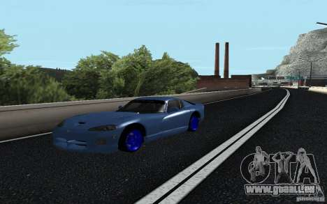 Dodge Viper GTS Monster Energy DRIFT für GTA San Andreas