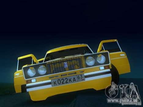 SPARKO VAZ 2106 pour GTA San Andreas vue arrière