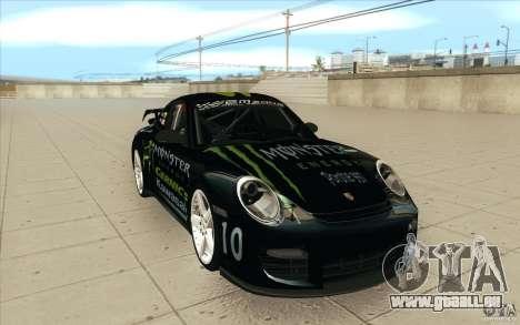 Porsche 997 Rally Edition pour GTA San Andreas vue arrière