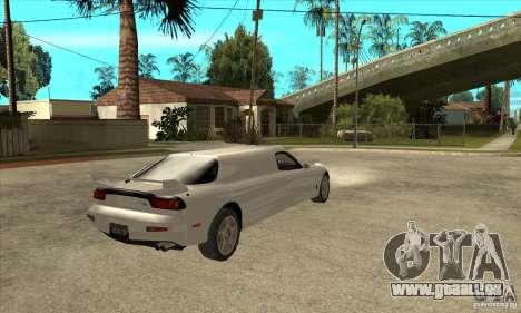 Mazda RX-7 Limousine pour GTA San Andreas vue de droite