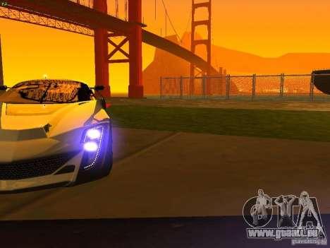 Bertone Mantide für GTA San Andreas Räder