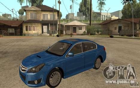Subaru Legacy B4 2.5GT 2010 pour GTA San Andreas