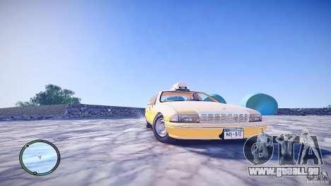 Chevrolet Caprice Taxi pour GTA 4 est un droit
