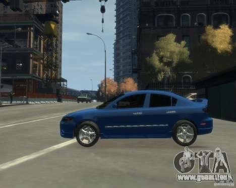 Mazda 3 sedan 2008 pour GTA 4 est une gauche