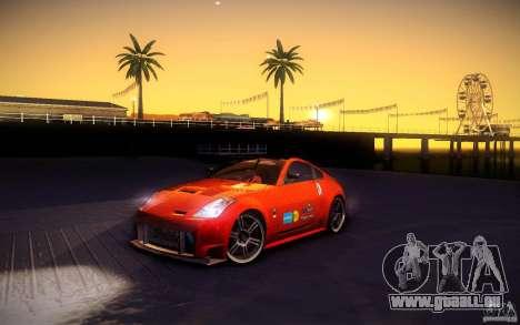 Nissan 350Z Fairlady pour GTA San Andreas roue