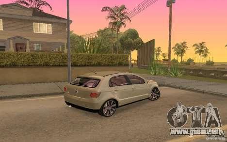 Volkswagen Gol G6 pour GTA San Andreas vue de droite