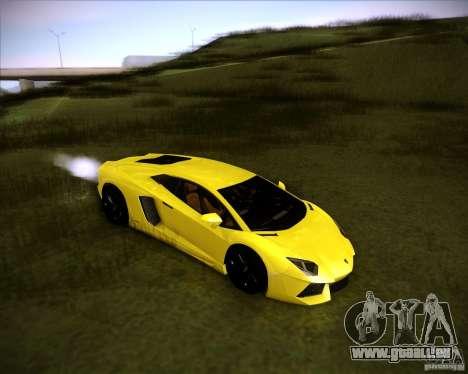 Lamborghini Aventador für GTA San Andreas