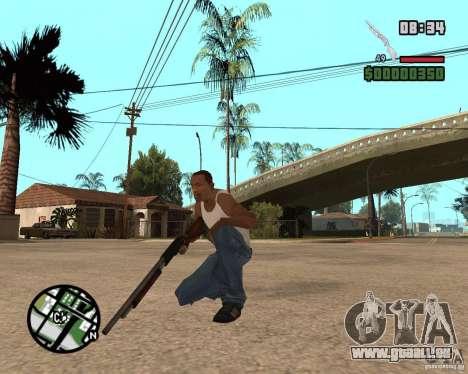 Chromegun HD pour GTA San Andreas deuxième écran