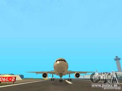 McDonell Douglas  DC 10 Thai Airways für GTA San Andreas Rückansicht