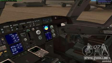 Boeing 757-200 Final Version für GTA San Andreas rechten Ansicht