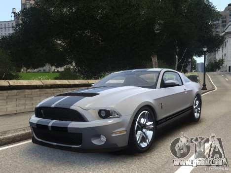 Shelby GT500 2010 pour GTA 4