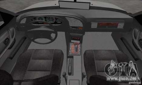BMW 320i E36 pour GTA San Andreas vue arrière