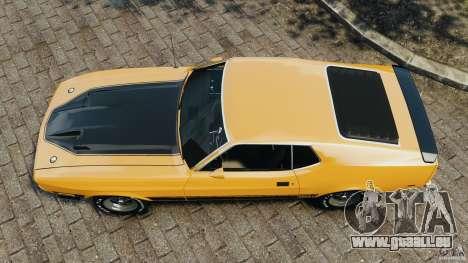 Ford Mustang Mach 1 1973 für GTA 4 rechte Ansicht