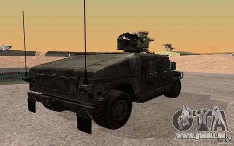 Hummer H1 from Battlefield 3 für GTA San Andreas linke Ansicht