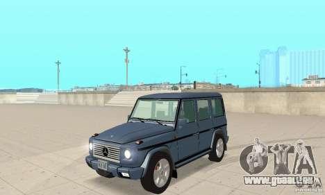 Mercedes-Benz G500 1999 V 1.1 keine Kengurâtnika für GTA San Andreas