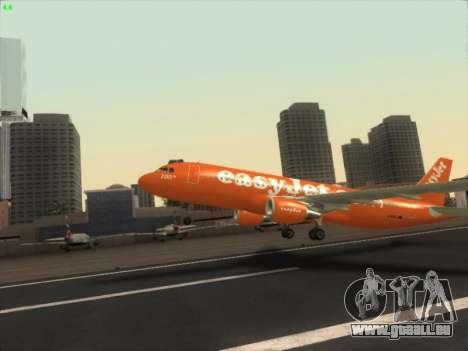 Airbus A320-214 EasyJet 200th Plane für GTA San Andreas Innenansicht