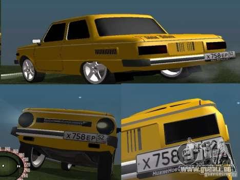 ZAZ 968 pour GTA San Andreas