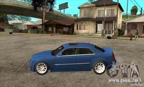 Chrysler 300C SRT 8 2008 pour GTA San Andreas laissé vue