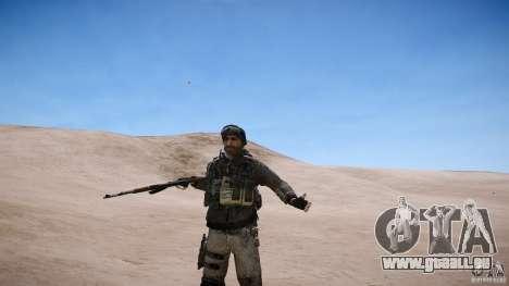 Prix capitaine de COD MW3 pour GTA 4 sixième écran