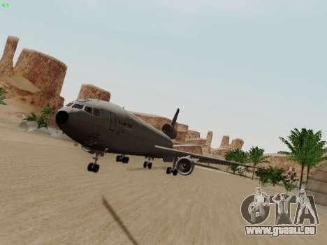 McDonell Douglas KC-10A Extender für GTA San Andreas