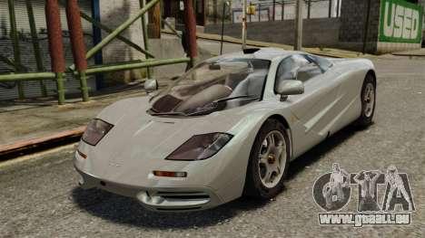McLaren F1 1995 für GTA 4