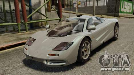McLaren F1 1995 pour GTA 4