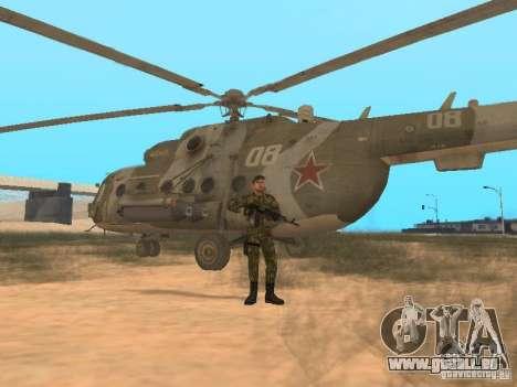 Commando soviétique pour GTA San Andreas cinquième écran