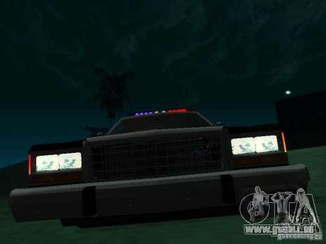 Ford Crown Victoria LTD 1992 SFPD für GTA San Andreas linke Ansicht