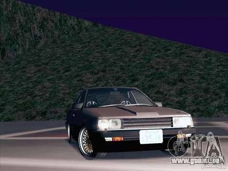 Nissan Skyline RS TURBO (R30) pour GTA San Andreas vue de côté