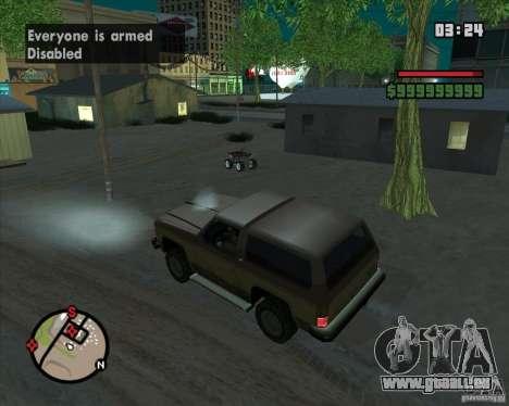 CJ-maire pour GTA San Andreas