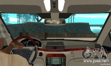 Mercedes-Benz S65 AMG 2004 pour GTA San Andreas vue de droite