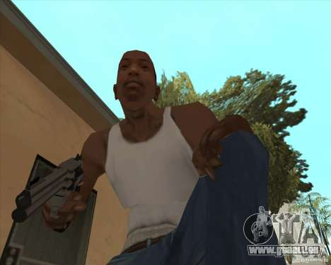 Smith Wesson HD + animation für GTA San Andreas zweiten Screenshot