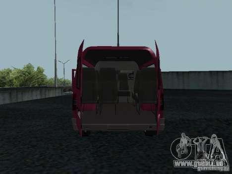 GAZ 2217 Sobol pour GTA San Andreas vue arrière