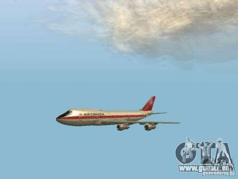 Boeing 747 Air Canada für GTA San Andreas