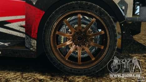 Colin McRae R4 Rallycross pour GTA 4 Vue arrière