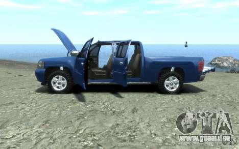 Chevrolet Silverado 2008 für GTA 4 Seitenansicht