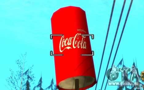 Usine de Coca Cola pour GTA San Andreas quatrième écran