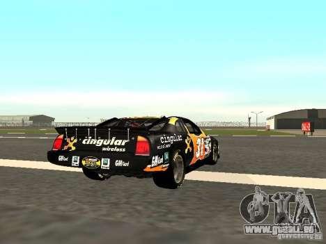 Chevrolet Monte Carlo Nascar CINGULAR Nr.31 pour GTA San Andreas vue de droite