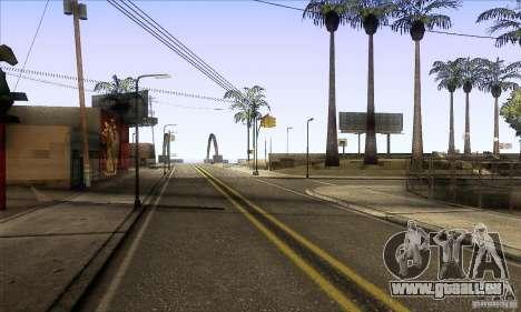 Grove Street Retextured pour GTA San Andreas deuxième écran