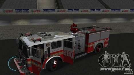 NEW Fire Truck pour GTA 4 est une gauche