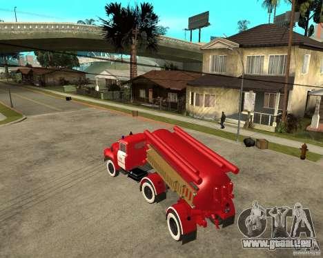 Le camion de pompier de l'AB-6 (130В1) pour GTA San Andreas laissé vue